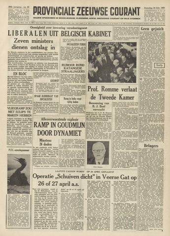 Provinciale Zeeuwse Courant 1961-02-18