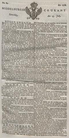 Middelburgsche Courant 1778-07-25