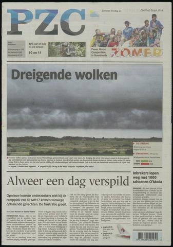 Provinciale Zeeuwse Courant 2014-07-29