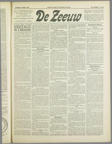 De Zeeuw. Christelijk-historisch nieuwsblad voor Zeeland 1934-03-10