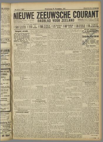 Nieuwe Zeeuwsche Courant 1921-11-16
