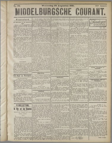 Middelburgsche Courant 1921-08-24