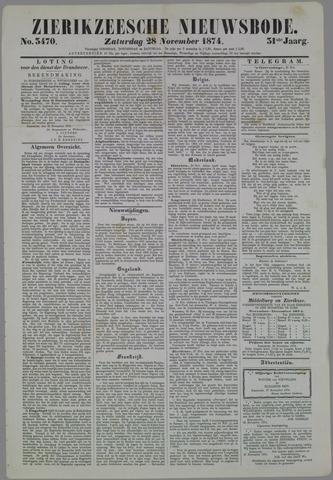Zierikzeesche Nieuwsbode 1874-11-28