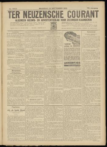 Ter Neuzensche Courant. Algemeen Nieuws- en Advertentieblad voor Zeeuwsch-Vlaanderen / Neuzensche Courant ... (idem) / (Algemeen) nieuws en advertentieblad voor Zeeuwsch-Vlaanderen 1935-09-23