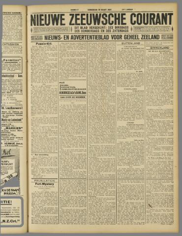 Nieuwe Zeeuwsche Courant 1929-03-28