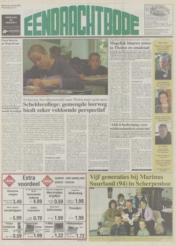 Eendrachtbode (1945-heden)/Mededeelingenblad voor het eiland Tholen (1944/45) 2003-04-10