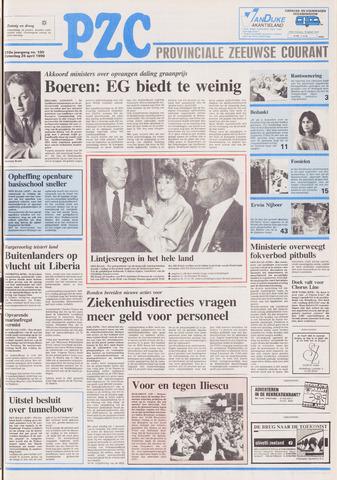 Provinciale Zeeuwse Courant 1990-04-28