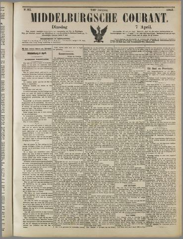 Middelburgsche Courant 1903-04-07