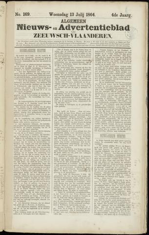 Ter Neuzensche Courant. Algemeen Nieuws- en Advertentieblad voor Zeeuwsch-Vlaanderen / Neuzensche Courant ... (idem) / (Algemeen) nieuws en advertentieblad voor Zeeuwsch-Vlaanderen 1864-07-13