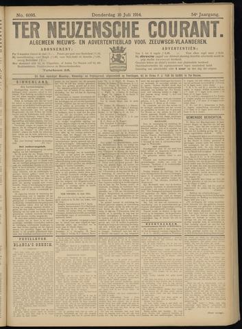 Ter Neuzensche Courant. Algemeen Nieuws- en Advertentieblad voor Zeeuwsch-Vlaanderen / Neuzensche Courant ... (idem) / (Algemeen) nieuws en advertentieblad voor Zeeuwsch-Vlaanderen 1914-07-16