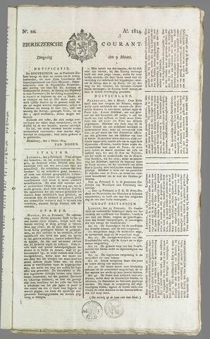 Zierikzeesche Courant 1824-03-09