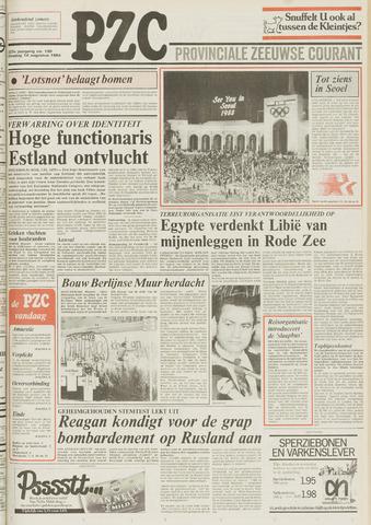Provinciale Zeeuwse Courant 1984-08-14