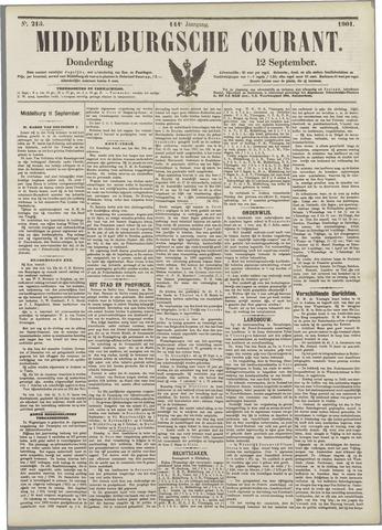 Middelburgsche Courant 1901-09-12
