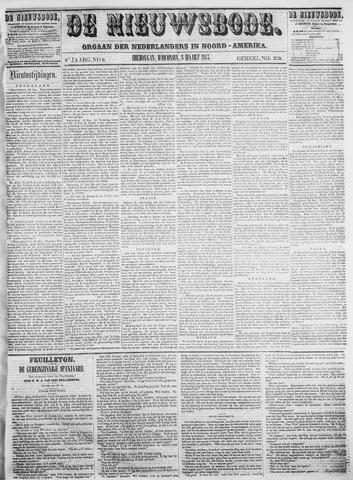 Sheboygan Nieuwsbode 1857-03-03