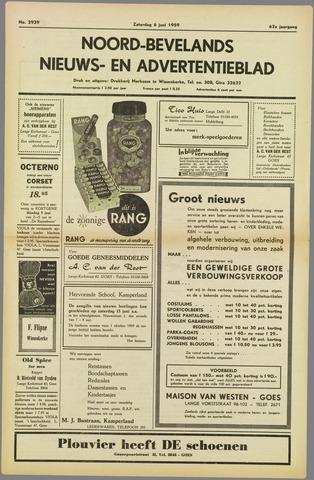 Noord-Bevelands Nieuws- en advertentieblad 1959-06-06