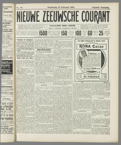 Nieuwe Zeeuwsche Courant 1913-02-13
