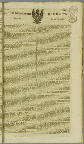 Middelburgsche Courant 1817-11-11