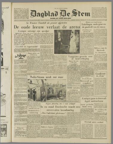 de Stem 1955-04-06
