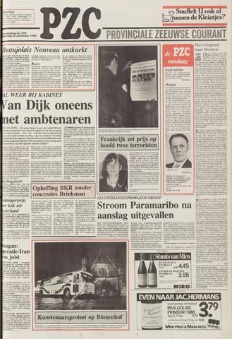 Provinciale Zeeuwse Courant 1986-11-20