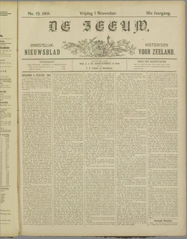 De Zeeuw. Christelijk-historisch nieuwsblad voor Zeeland 1901-11-01