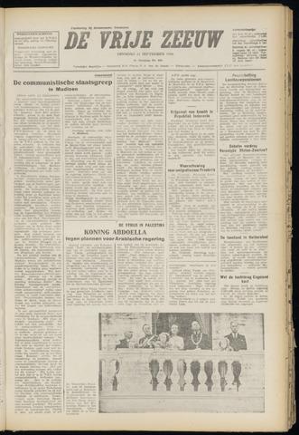 de Vrije Zeeuw 1948-09-21