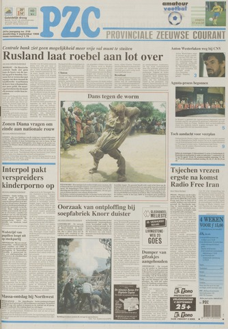 Provinciale Zeeuwse Courant 1998-09-03