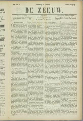 De Zeeuw. Christelijk-historisch nieuwsblad voor Zeeland 1891-10-29