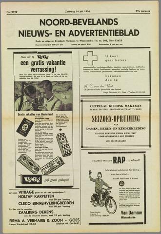 Noord-Bevelands Nieuws- en advertentieblad 1956-07-14
