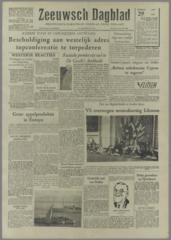 Zeeuwsch Dagblad 1958-07-29