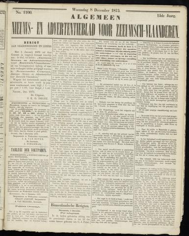 Ter Neuzensche Courant. Algemeen Nieuws- en Advertentieblad voor Zeeuwsch-Vlaanderen / Neuzensche Courant ... (idem) / (Algemeen) nieuws en advertentieblad voor Zeeuwsch-Vlaanderen 1875-12-08