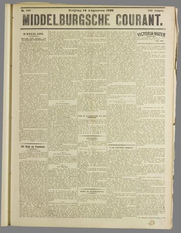 Middelburgsche Courant 1925-08-14