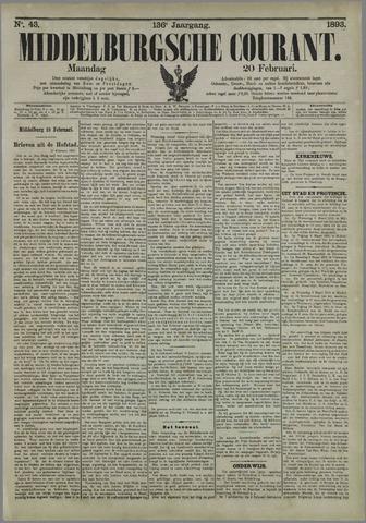 Middelburgsche Courant 1893-02-20