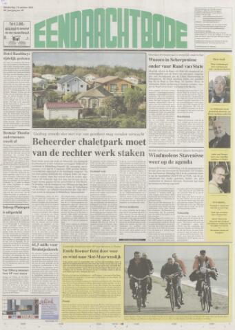 Eendrachtbode (1945-heden)/Mededeelingenblad voor het eiland Tholen (1944/45) 2010-10-21