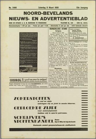 Noord-Bevelands Nieuws- en advertentieblad 1950-03-11