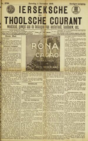 Ierseksche en Thoolsche Courant 1913-11-01