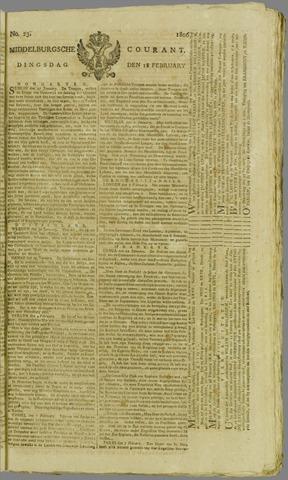 Middelburgsche Courant 1806-02-18