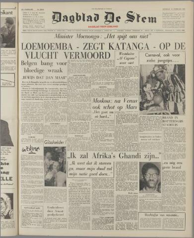 de Stem 1961-02-14