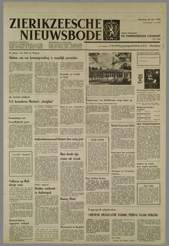 Zierikzeesche Nieuwsbode 1963-07-22
