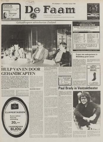 de Faam en de Faam/de Vlissinger 1980