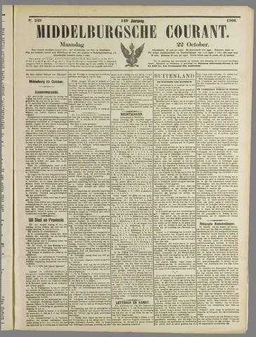 Middelburgsche Courant 1906-10-22