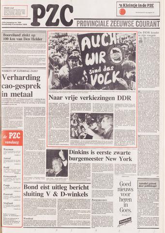 Provinciale Zeeuwse Courant 1989-11-09