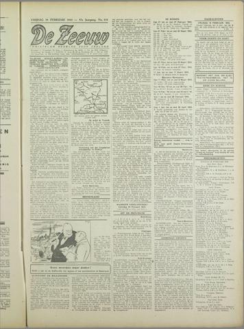 De Zeeuw. Christelijk-historisch nieuwsblad voor Zeeland 1943-02-19