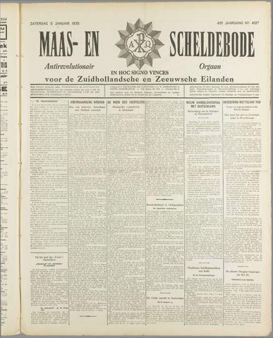 Maas- en Scheldebode 1935
