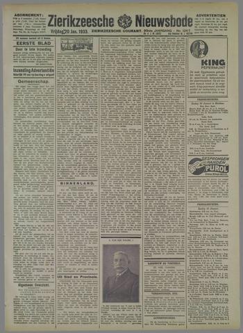 Zierikzeesche Nieuwsbode 1933-01-20
