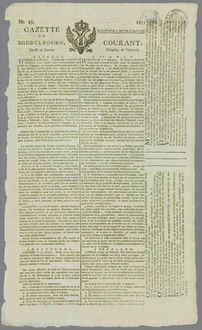 Middelburgsche Courant 1811-02-26