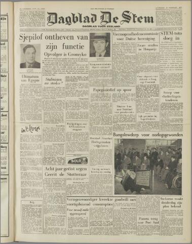 de Stem 1957-02-16