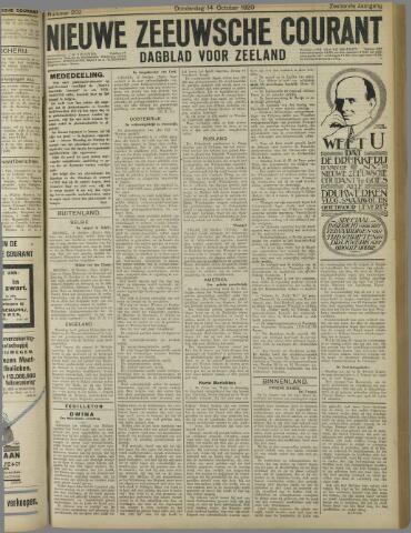 Nieuwe Zeeuwsche Courant 1920-10-14