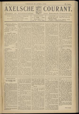 Axelsche Courant 1932-04-29