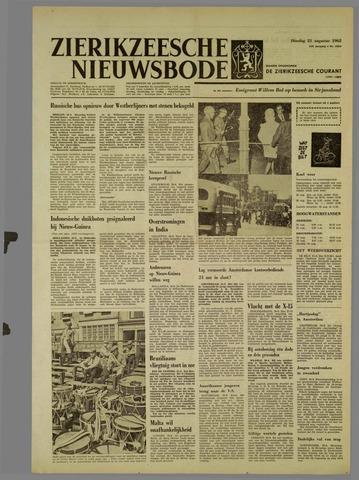 Zierikzeesche Nieuwsbode 1962-08-21