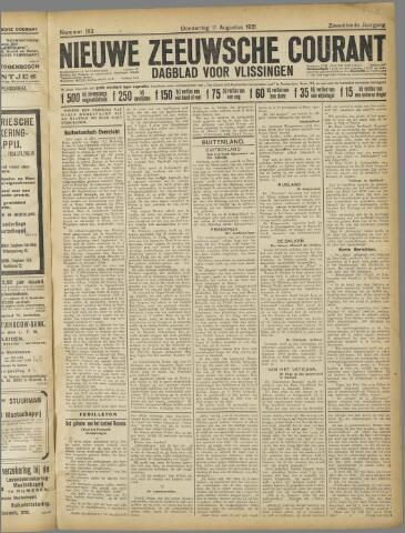 Nieuwe Zeeuwsche Courant 1921-08-11